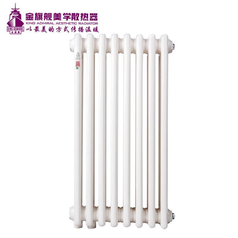 钢制散热器三柱白色