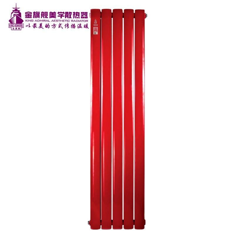 钢制散热器70x63红色