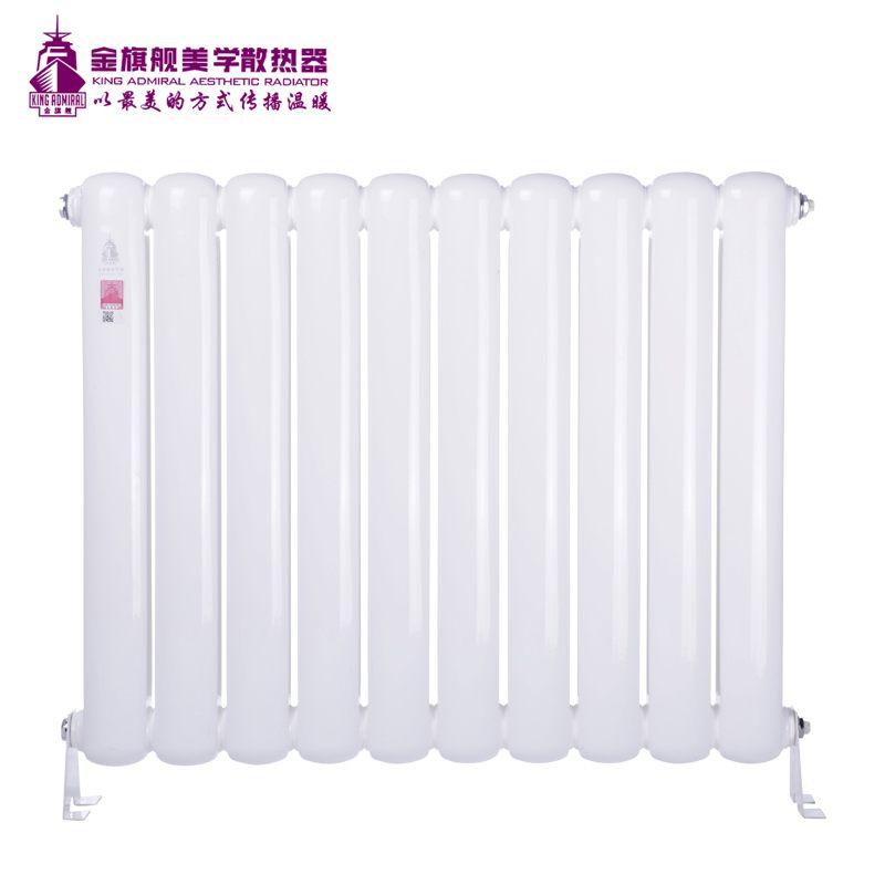 钢制散热器70方头白色矮片