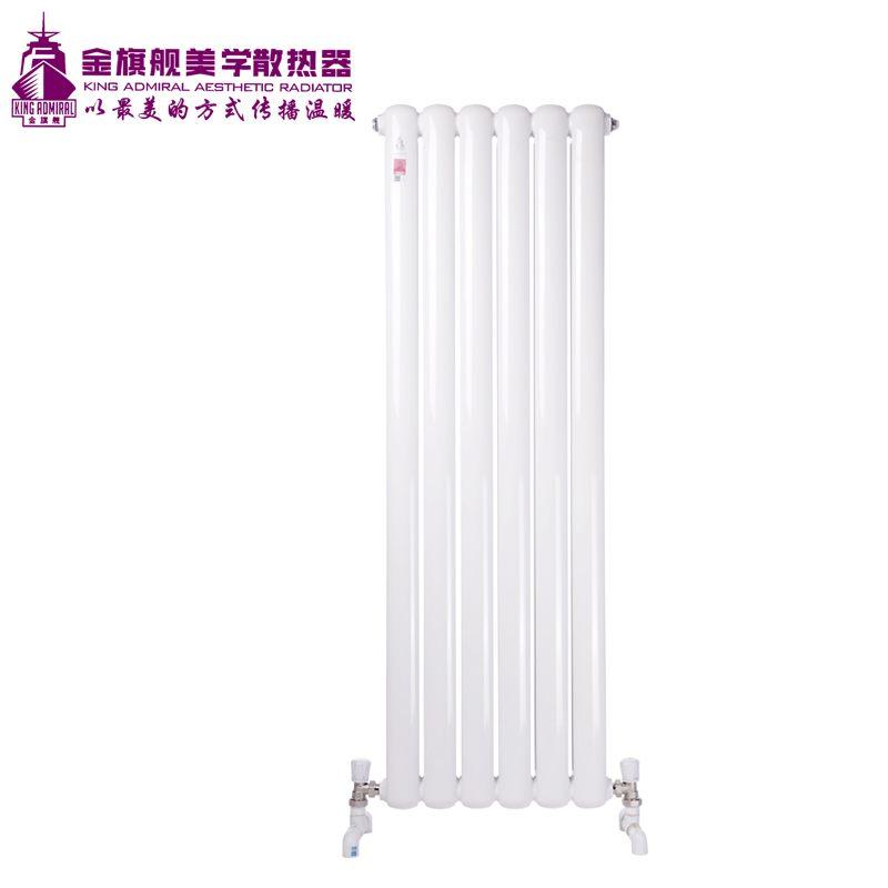 钢制散热器70方头白色高片