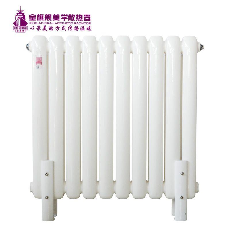 钢制散热器60x30新平头白色