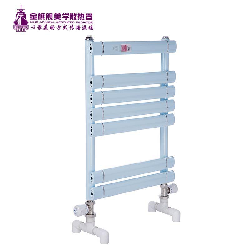 铜铝复合散热器浅蓝平板