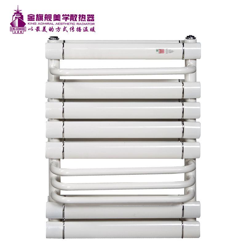 铜铝复合散热器单背白色