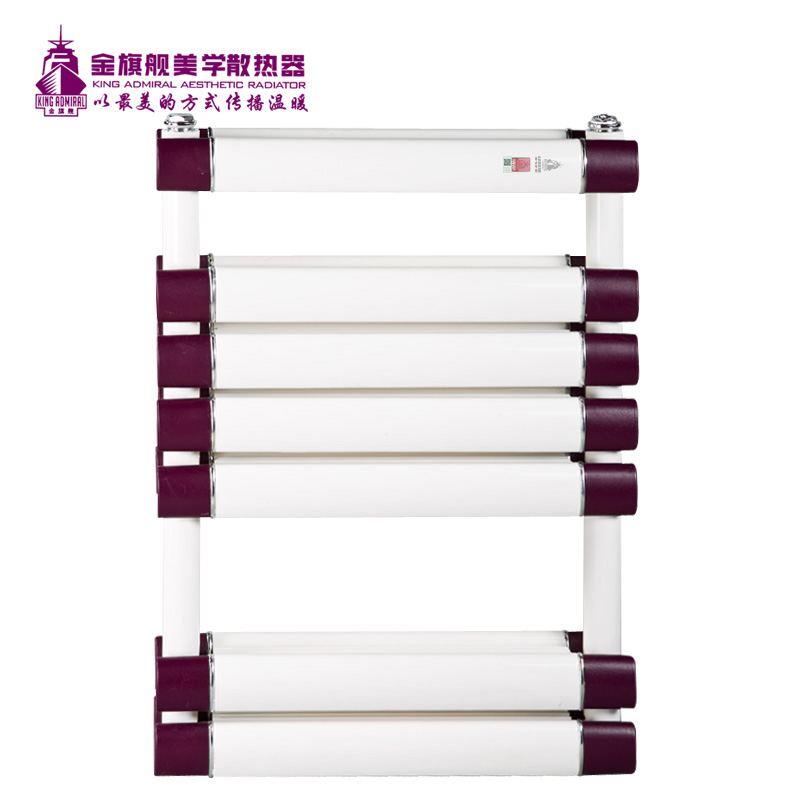 铜铝复合散热器双层搭接